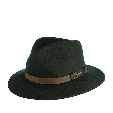 Шляпа STETSON арт. 2528005 SARDIS (темно-зеленый)
