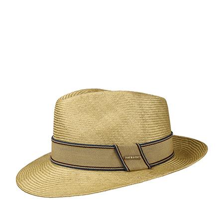 Шляпа STETSON арт. 2138509 FEDORA ABACA (бежевый)
