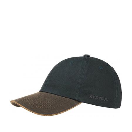 Бейсболка STETSON арт. 7711117 PLANO (черный)