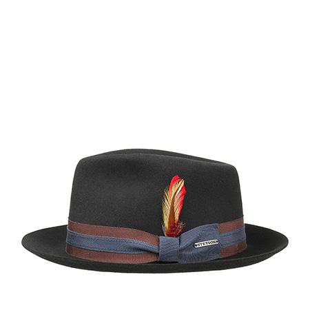 Шляпа STETSON арт. 2148001 FEDORA (черный)