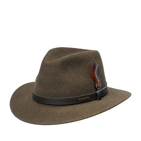 Шляпа STETSON арт. 2598123 POWELL (темно-коричневый)