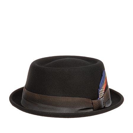 Шляпа STETSON арт. 1658101 PORKPIE (черный)