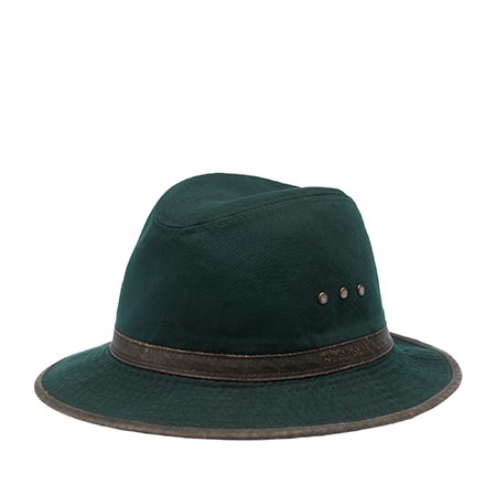 Шляпа STETSON арт. 2541109 TRAVELLER COTTON (синий)