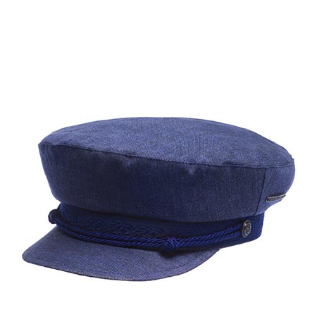 Кепка STETSON арт. 6293104 RIDERS CAP LINEN (темно-синий)