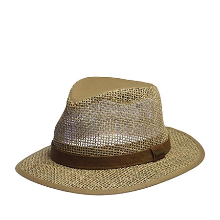Шляпа STETSON арт. 2478504 TRAVELLER SEAGRASS (бежевый)