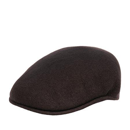 Кепка KANGOL арт. 0258BC Wool 504 (темно-коричневый)