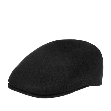 Кепка KANGOL арт. K0875FA Seamless Wool 507 (черный)