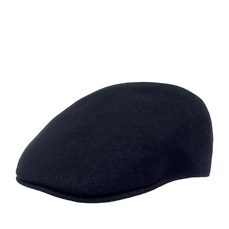 Кепка KANGOL арт. K0875FA Seamless Wool 507 (темно-синий)