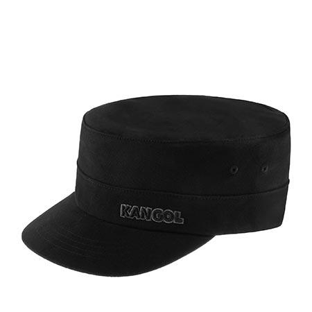 Кепка KANGOL арт. 9720BC Cotton Twill Army Cap (черный)