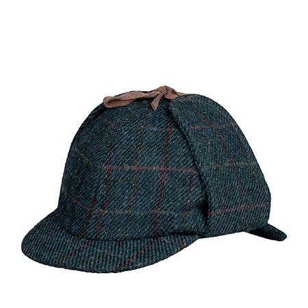 Кепка HANNA HATS арт. Sherlock Holmes SH2 (темно-синий / черный)