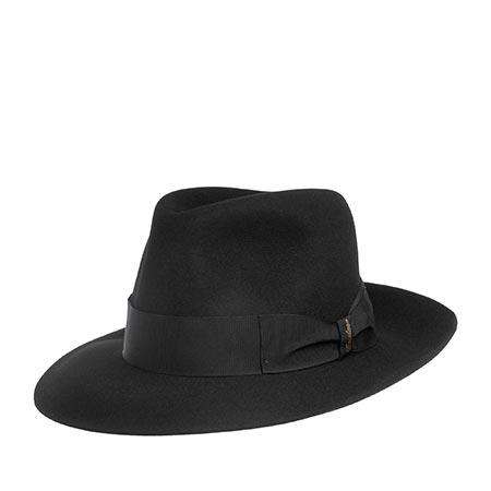 Шляпа BORSALINO арт. 390298 ALESSANDRIA (черный)
