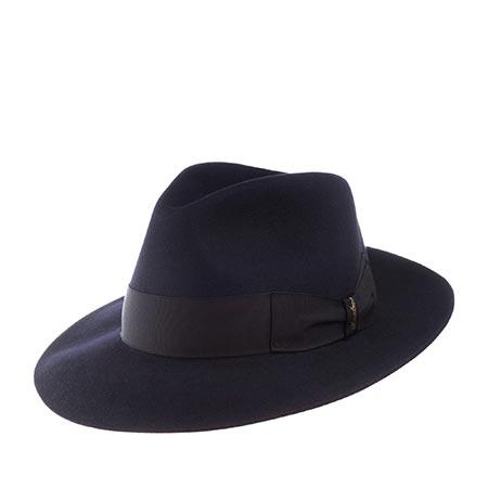 Шляпа BORSALINO арт. 110836 ANELLO (темно-синий)
