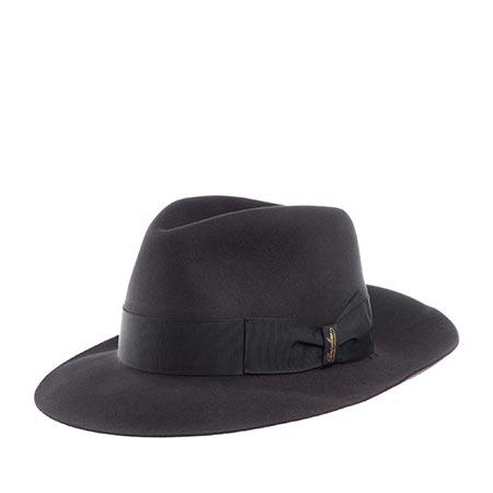 Шляпа BORSALINO арт. 390299 ALESSANDRIA (темно-серый)