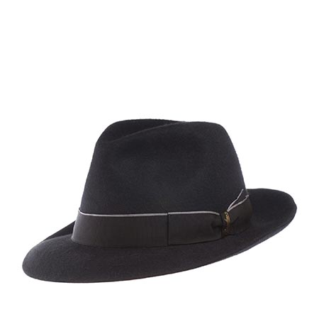 Шляпа BORSALINO арт. 390310 ALESSANDRIA (черный)