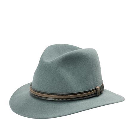 Шляпа BAILEY арт. 37158 BRANDT (светло-серый)