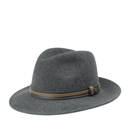 Шляпа BAILEY арт. 37158 BRANDT (серый)