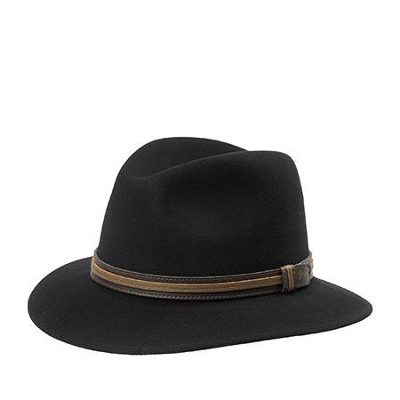 Шляпа BAILEY арт. 37158 BRANDT (черный)