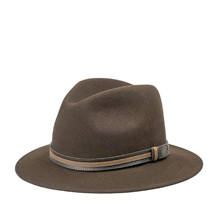 Шляпа BAILEY арт. 37158 BRANDT (темно-коричневый)