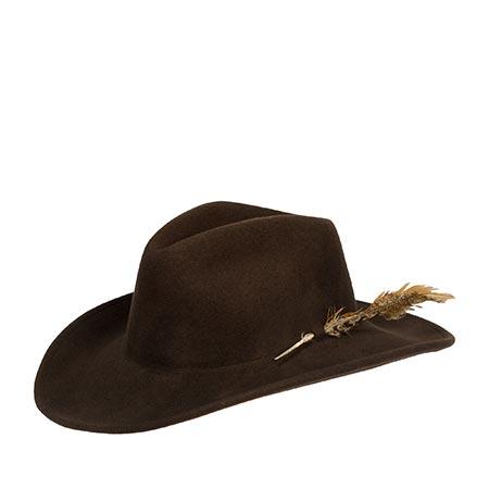 Шляпа BAILEY арт. W16RDC CALICO (темно-коричневый)