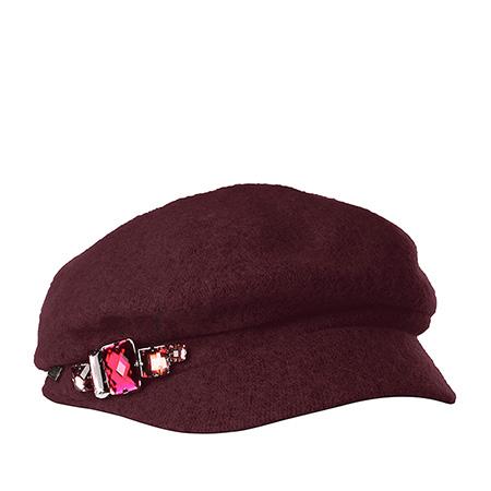 Кепка BETMAR арт. B521 RHINESTONE CAP (фиолетовый)