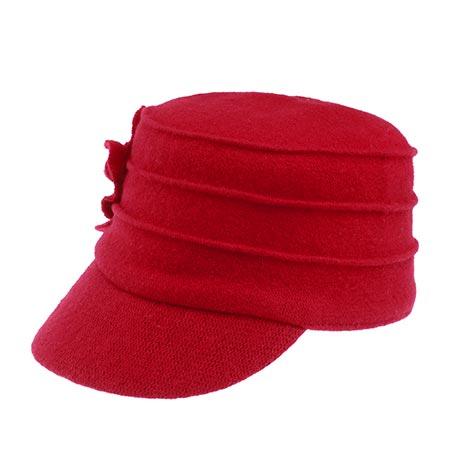 Кепка BETMAR арт. B523 Ridge Flower Cap (красный)