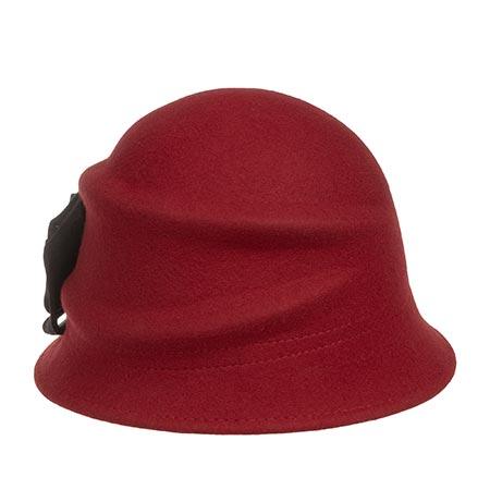 Шляпа BETMAR арт. B545H ALEXANDRITE (красный / черный)