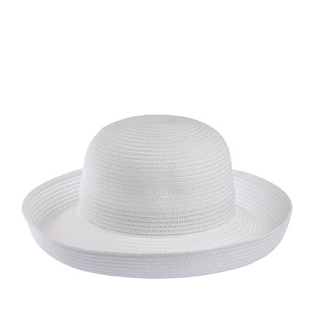 Шляпа BETMAR арт. B166 CLASSIC ROLL UP (белый)
