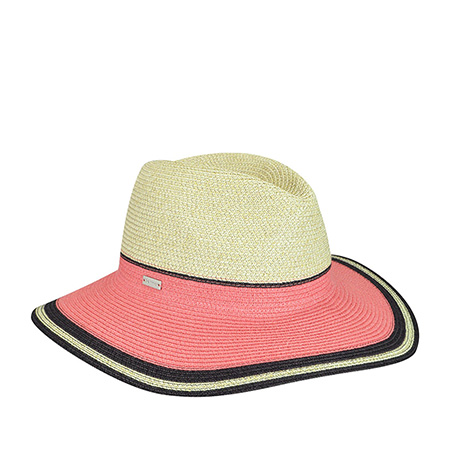 Шляпа BETMAR арт. B1703H PORTO (бежевый / розовый)
