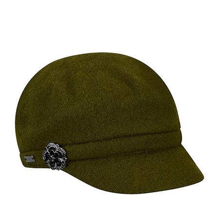 Кепка BETMAR арт. B1794H CRYSTAL CAP (оливковый)
