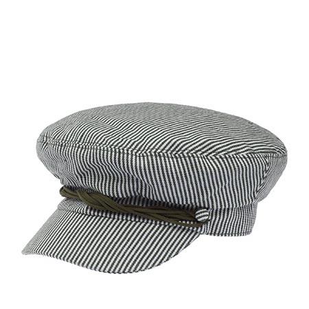 Кепка BETMAR арт. B1818H SEAPORT CAP (белый / оливковый)