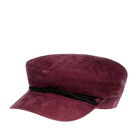Кепка BETMAR арт. B1873H LIEUTENANT CAP (бордовый)