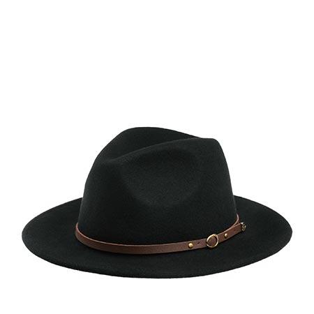 Шляпа CHRISTYS арт. CRUSHABLE SAFARI cwf100008 (черный)