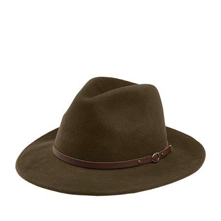 Шляпа CHRISTYS арт. CRUSHABLE SAFARI cwf100008 (темно-коричневый)