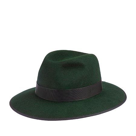 Шляпа CHRISTYS арт. SOPHIA cso100176 (зеленый)