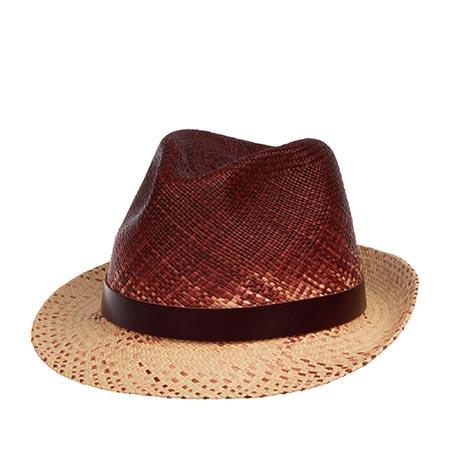 Шляпа CHRISTYS арт. HOXTON cpn100418 (бежевый / бордовый)