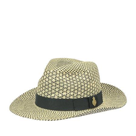 Шляпа CHRISTYS арт. NOTTING HILL cpn100424 (бежевый / черный)