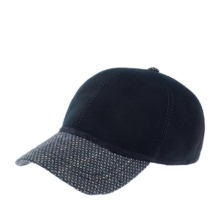 Бейсболка CHRISTYS арт. KIT BALL CAP TWEED csk100372 (темно-синий)
