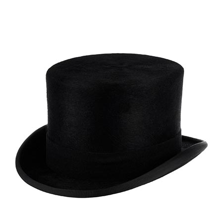 Шляпа CHRISTYS арт. FUR MELUSINE TOP HAT cst100005 (черный)