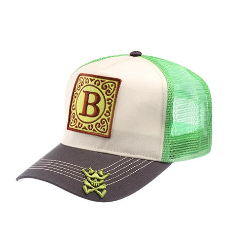 Бейсболка HERMAN арт. JACK B (зеленый)