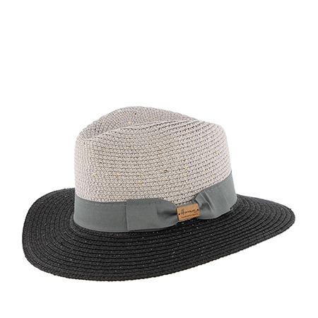 Шляпа HERMAN арт. MACCHICK (серый / черный)