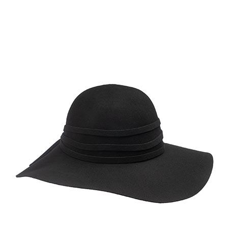 Шляпа HERMAN арт. QUEEN EVITA (черный)