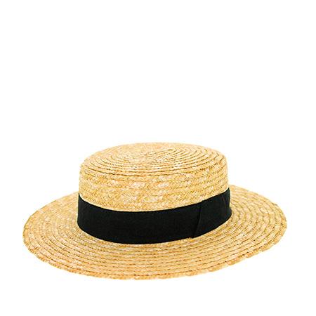 Шляпа HERMAN арт. BOATER S1803 (бежевый)