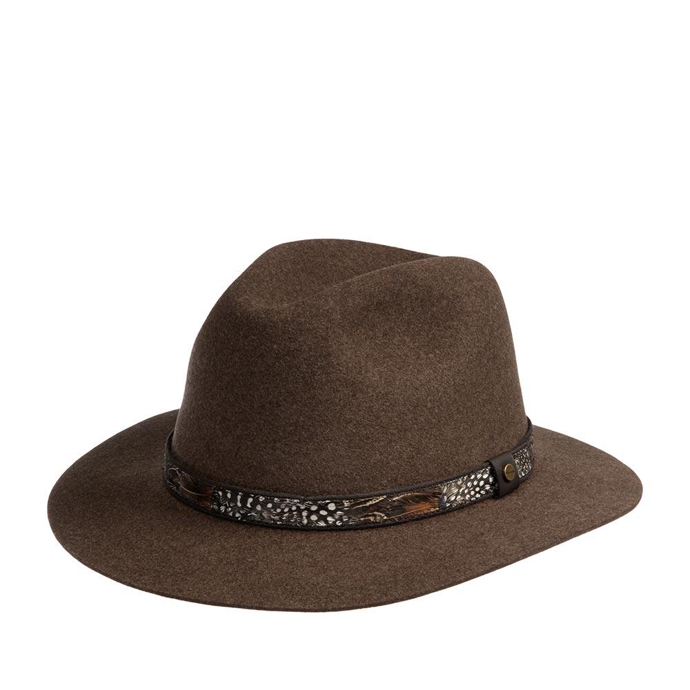 Шляпа STETSON арт. 2598139 TRAVELLER (коричневый)