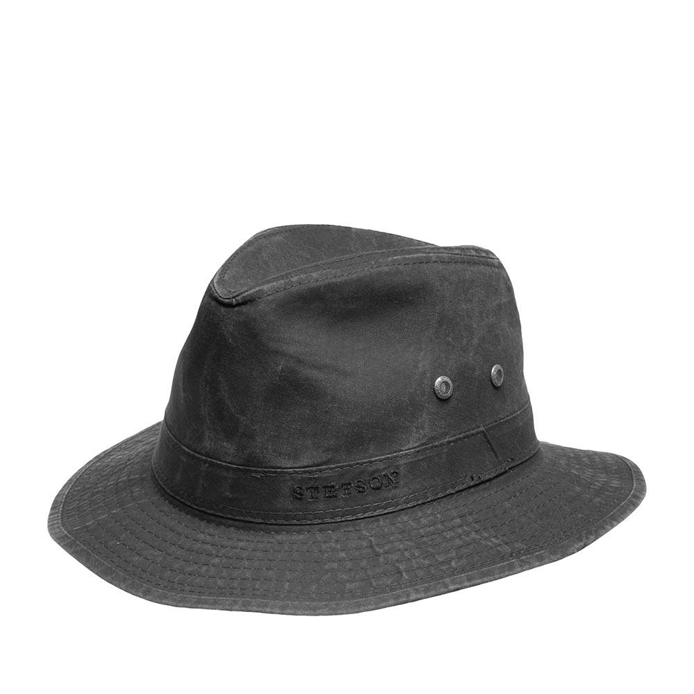 Шляпа федора STETSON 2541114 TRAVELLER DELAVE фото