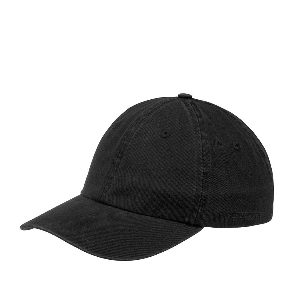Бейсболка STETSON арт. 7711101 BASEBALL CAP COTTON (черный)
