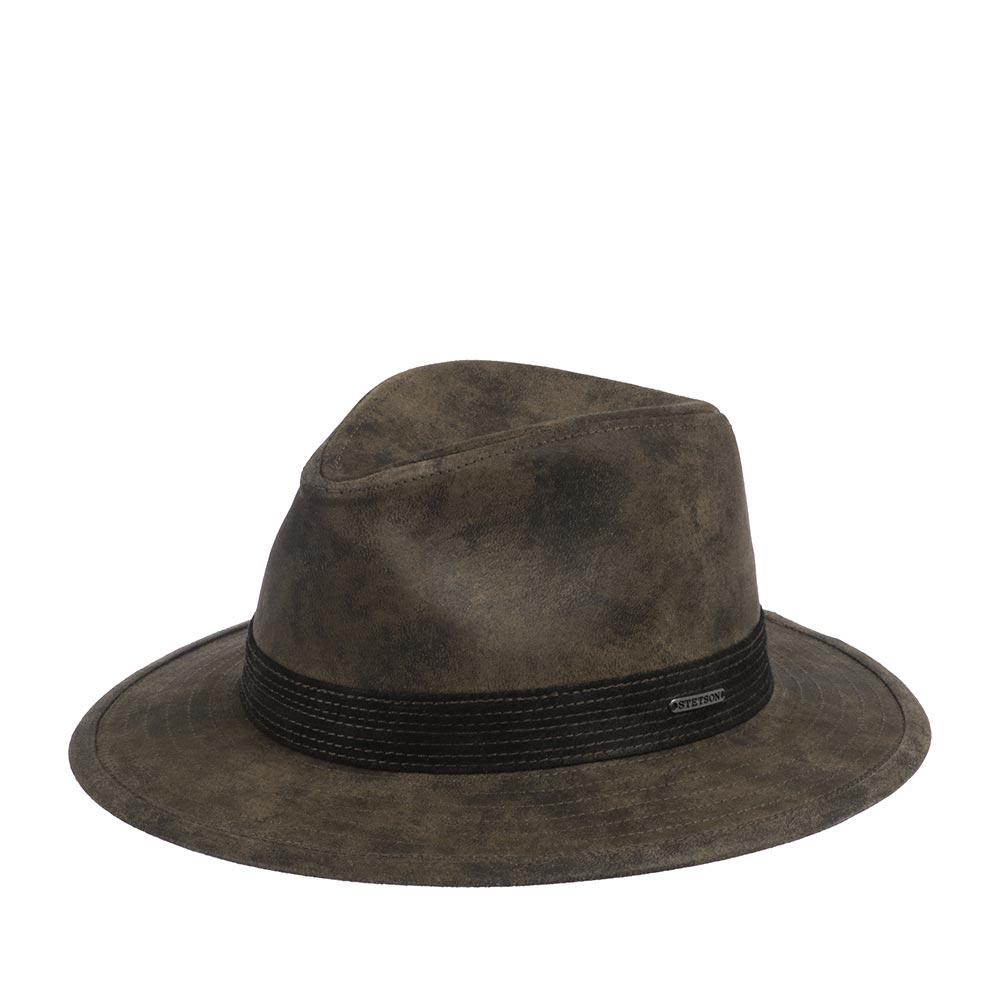 Шляпа федора STETSON 2527102 TRAVELLER PIGSKIN фото