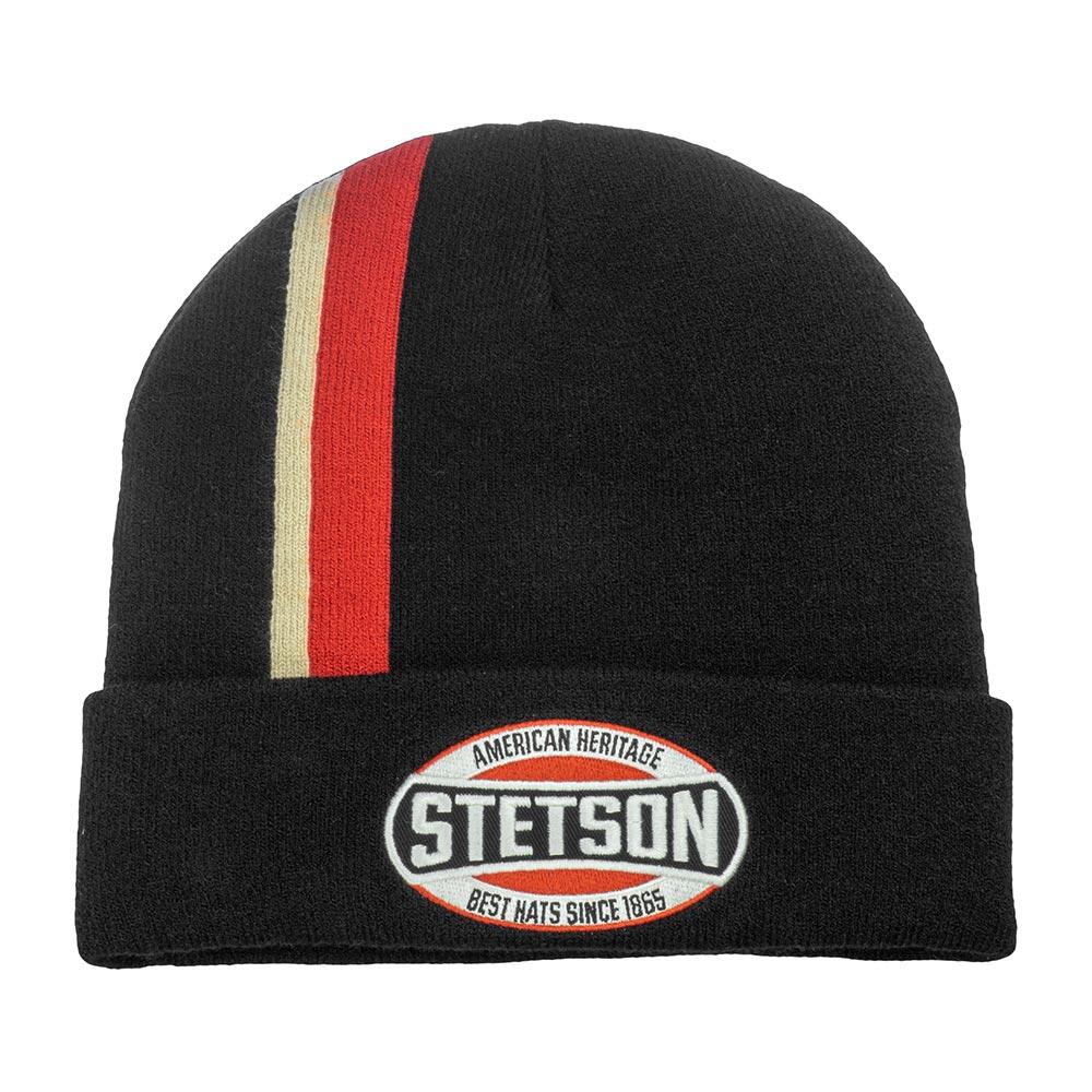 Шапка STETSON арт. 8599107 BEANIE AMERICAN (черный)