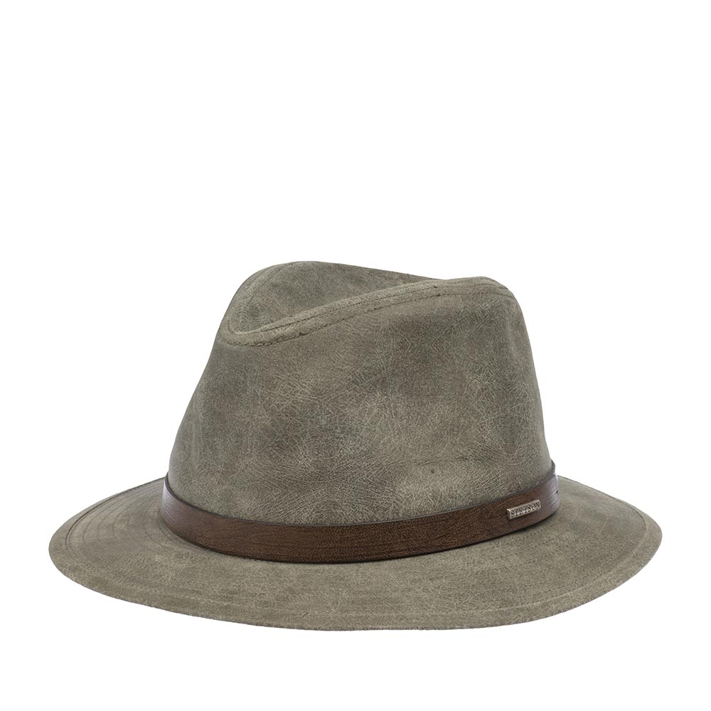 Шляпа федора STETSON 2527103 TRAVELLER PIGSKIN фото