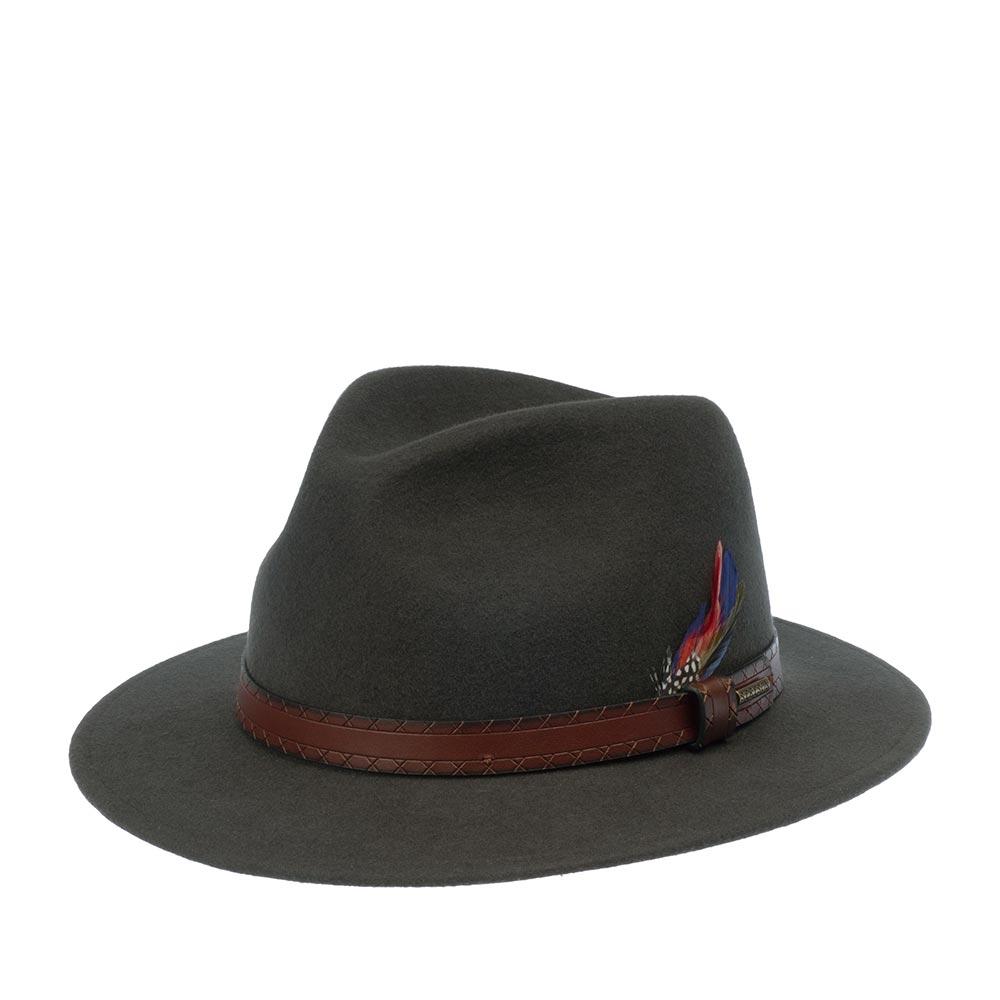 Шляпа федора STETSON 2528109 TRAVELLER WOOLFELT фото