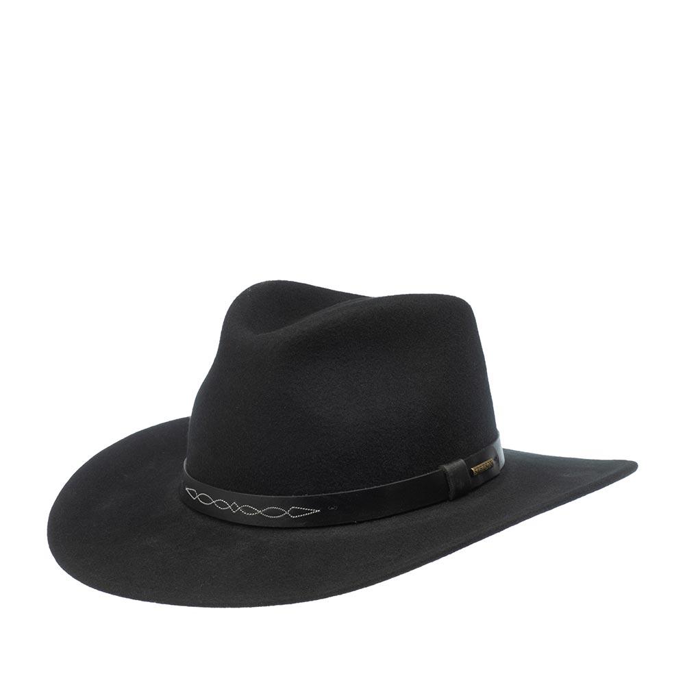 Шляпа STETSON арт. 3298102 WESTERN (черный) - Шляпа ковбойская